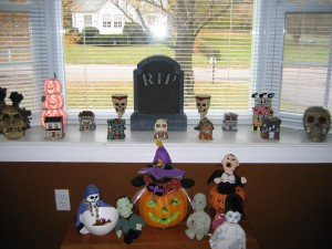 Our halloween themed bay window