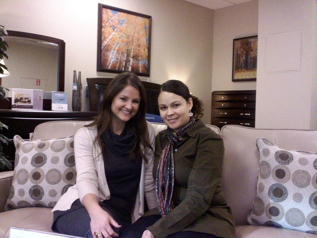 Chatting With Kristen Cunningham At Raymour And Flanigan