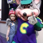 Wordless Wednesday – Chuck E. Cheese at 10 AM