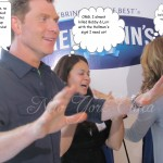 Wordless Wednesday: A Glimpse Of My Day With Lori Loughlin & Bobby Flay (Add your linky)