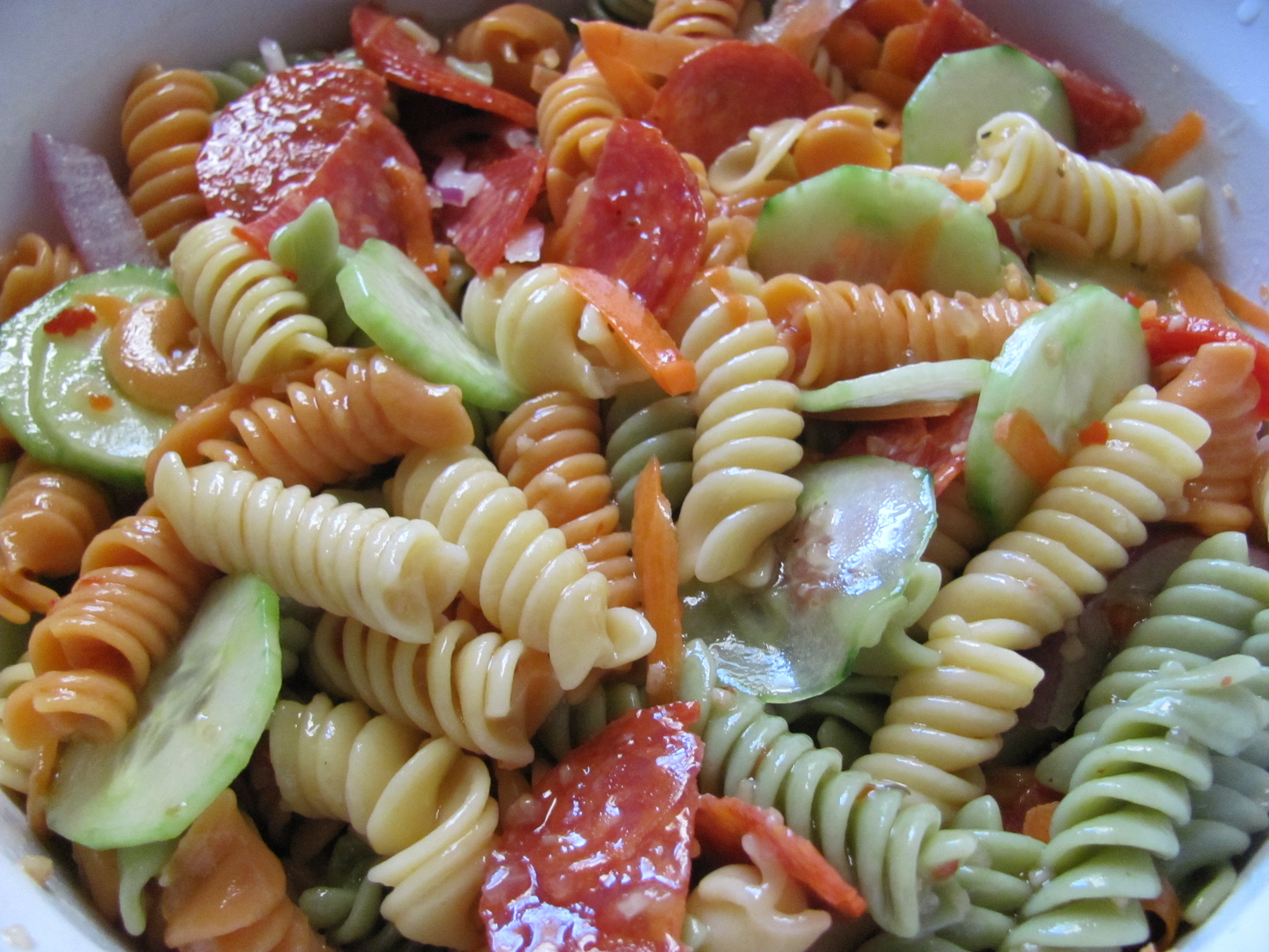 Easy Recipe: Italian Pasta Salad (Sabroso Saturday) – New York Chica ...