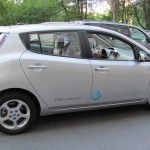 The 100% Electric Nissan LEAF & The NYC Marathon