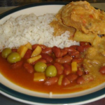 rice and beans dish