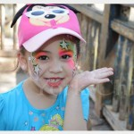 Wordless Wednesday – Face Painting at Disney (linky)