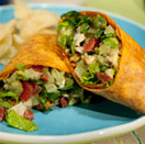 Easy Recipe: Bobby Flay's Vegetarian Cobb Wrap