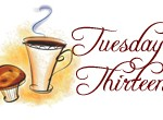 """Tuesday Thirteen: 13 """"More"""" Things About Me"""