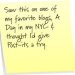 Post-it Note Tuesday: Random Thoughts