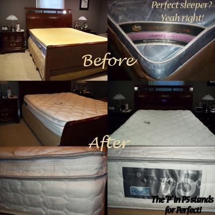 Sleep Number P5 Bed