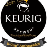 Join Us on Monday, May 7th from 7-8pm est for the K-Cup Ambassador Twitter Chat #IndulgeWithMom