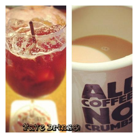 sangria and coffee