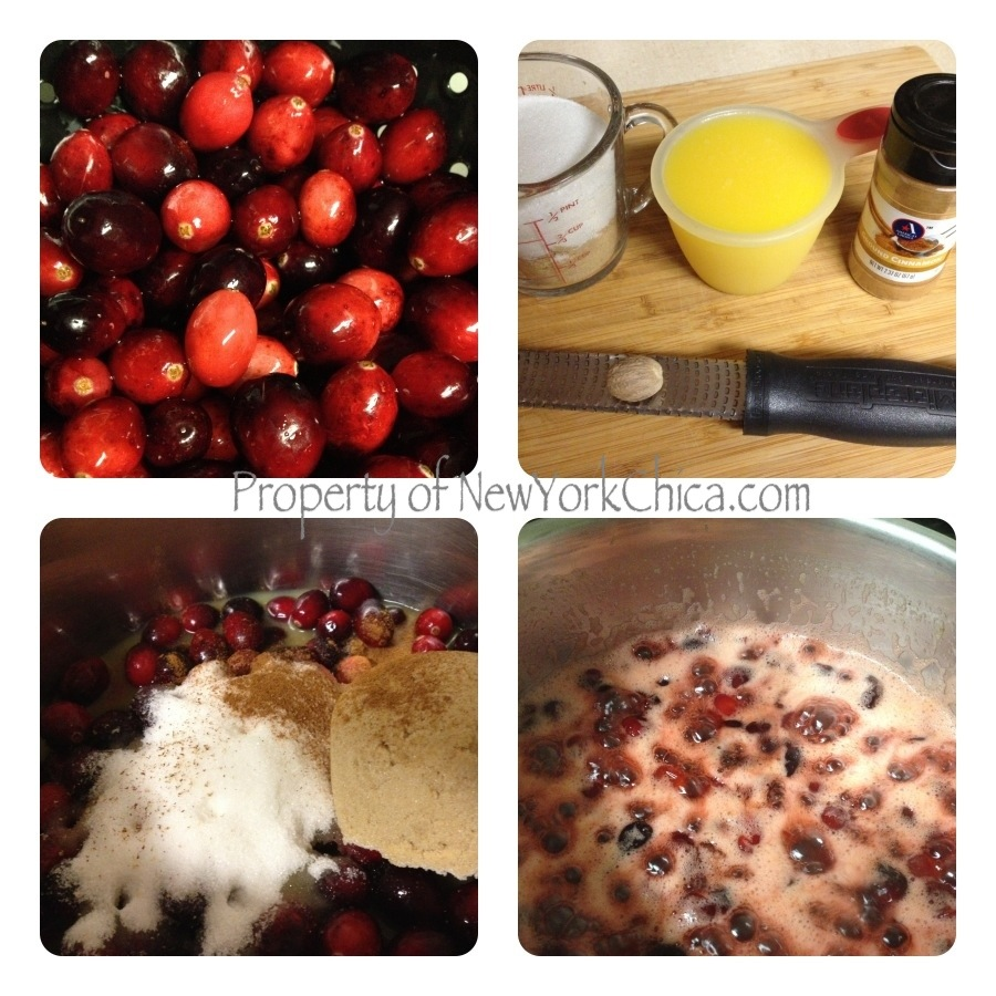 Orange-Cranberry Sauce Ingredients