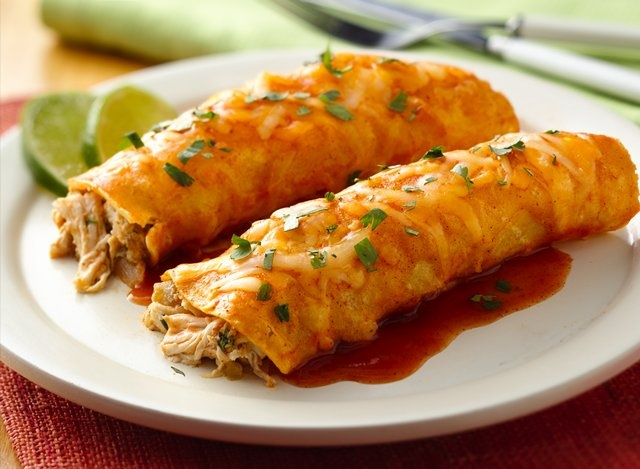 Key Lime Chicken Enchilada Recipe