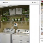 My First Pinterest Challenge: A Laundry Closet Makeover