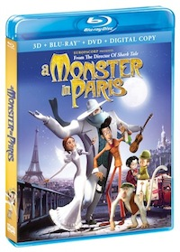 A Monster in Paris on Blu-Ray