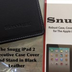 {Review} The Snugg iPad 2 Executive Case Cover and Stand in Black Leather