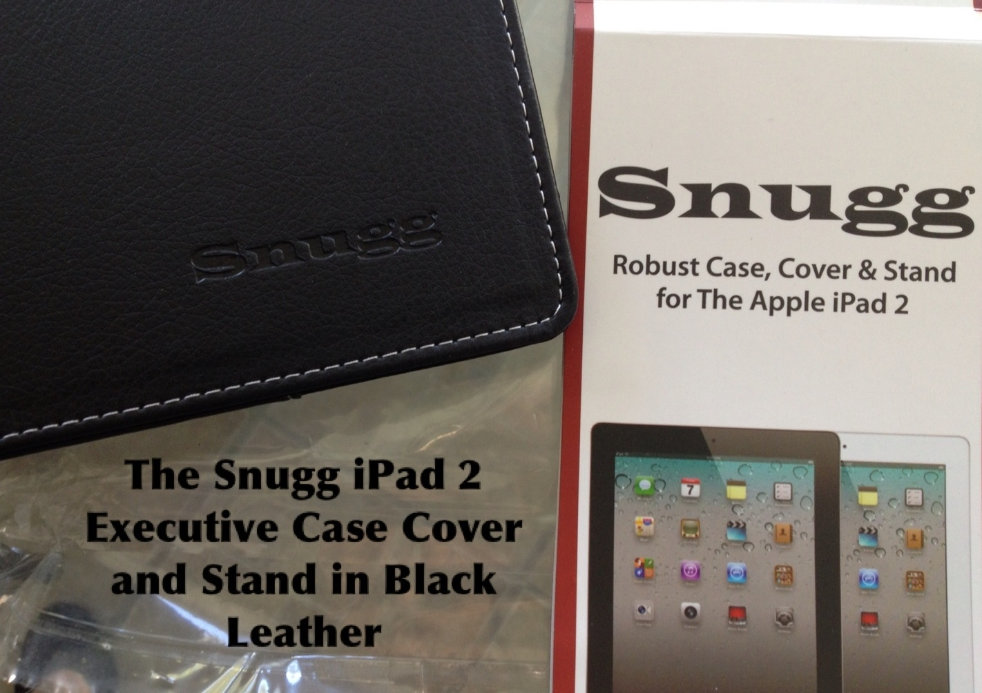 The Snugg iPad 2 Executive Case Cover and Stand