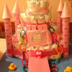 Wordless Wednesday: The Cutest Princess Diaper Castle