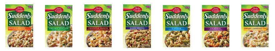 Suddenly Salad Packs