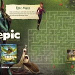 Free Activity Sheets From the Movie, Epic. Arriving on Blu-ray August 20th #EpicDay