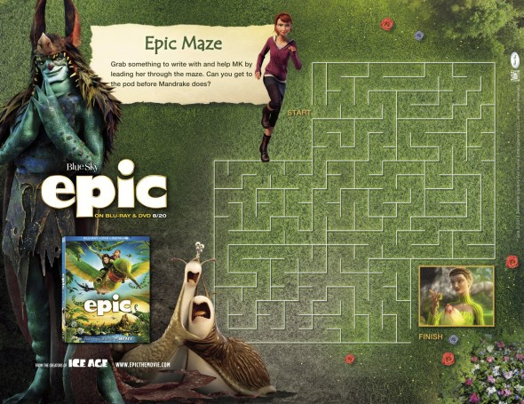 Epic Activity Sheet