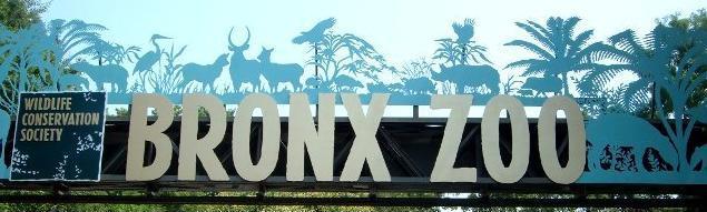 Bronx Zoo Sign 1