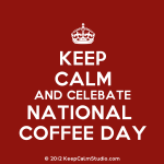 September 29th is National Coffee Day!