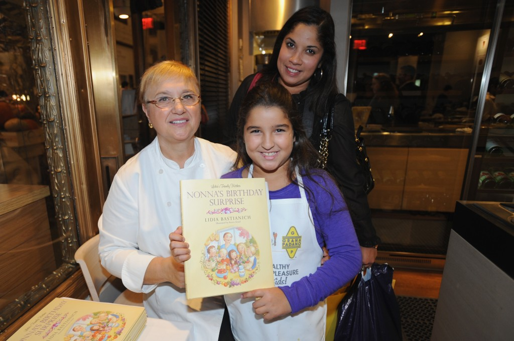 Grana Padano And Lidia Bastianich Teach Healthy Eating With Kids