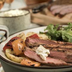 Chipotle Flank Steak W Creamy
