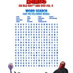 Free birds Word search