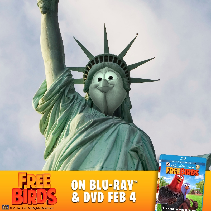 Free birds Lady Liberty