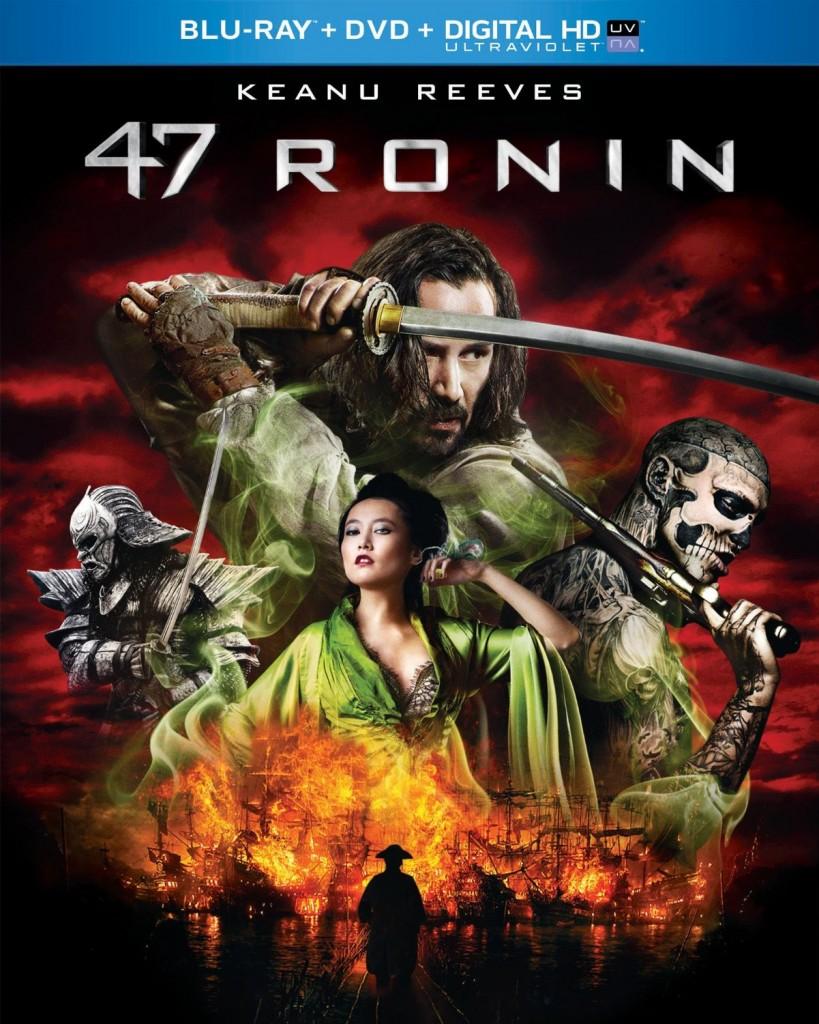47 Ronin Blu-ray-dvd