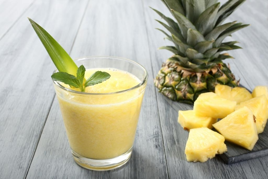 Tropical Honey-Coconut Smoothie