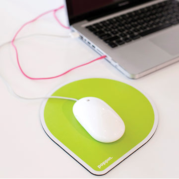 Poppin Mouse Pad - Green