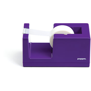 Poppin Tape Dispenser - Purple