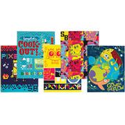 assorted spongebob folders