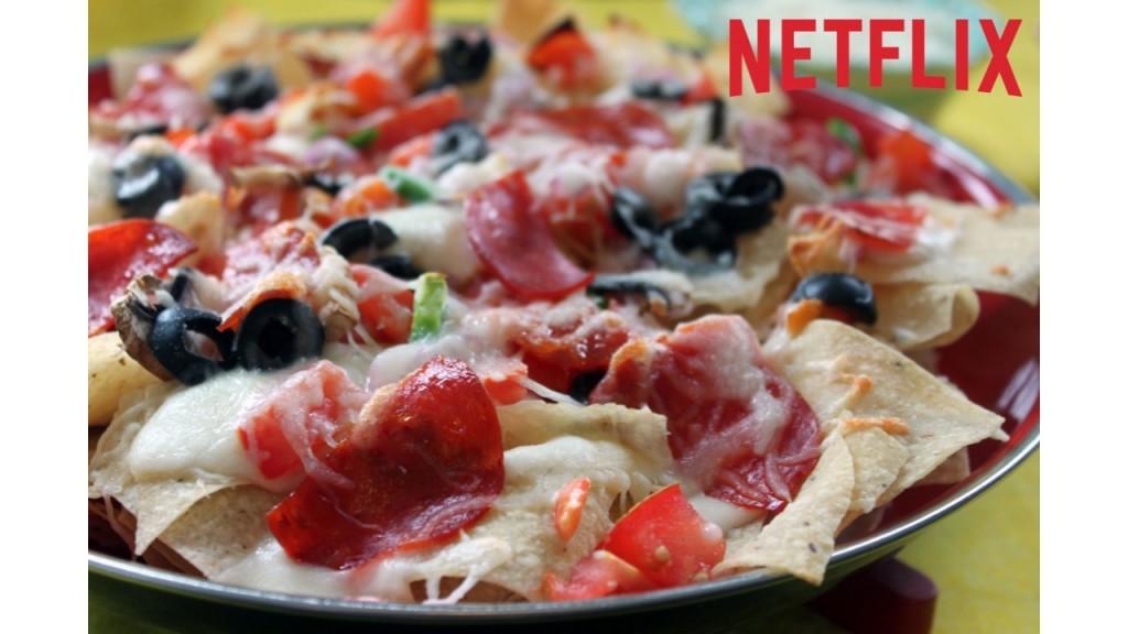 Netflix Pizza Nachos