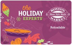 Boston Market Holiday Gift Card