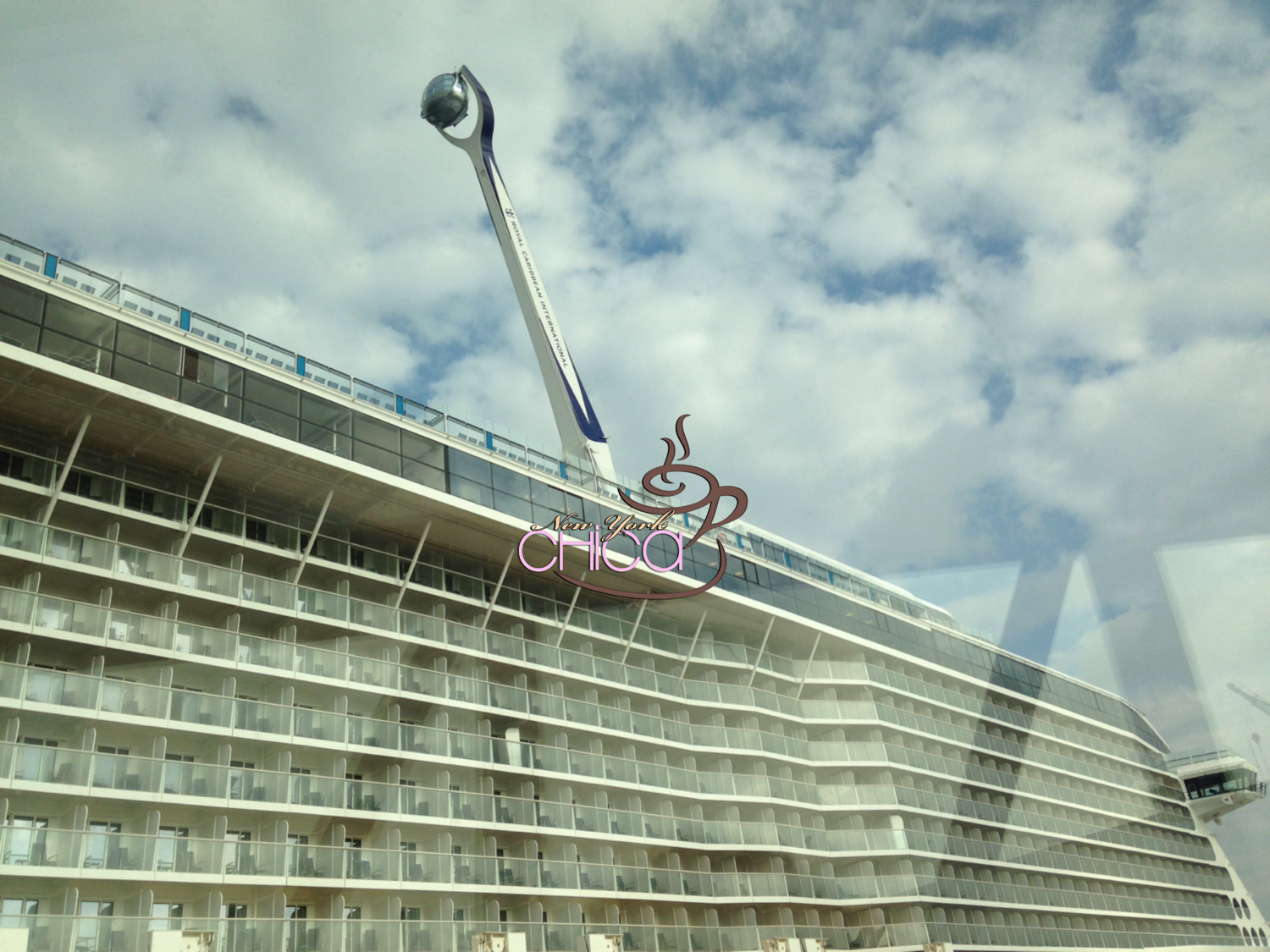 Quantum of the Seas - Side of ship
