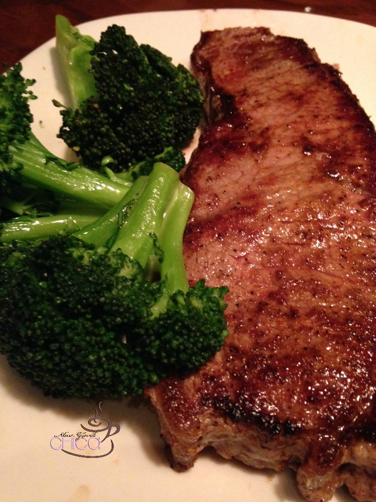 Outback Steak and Broccoli