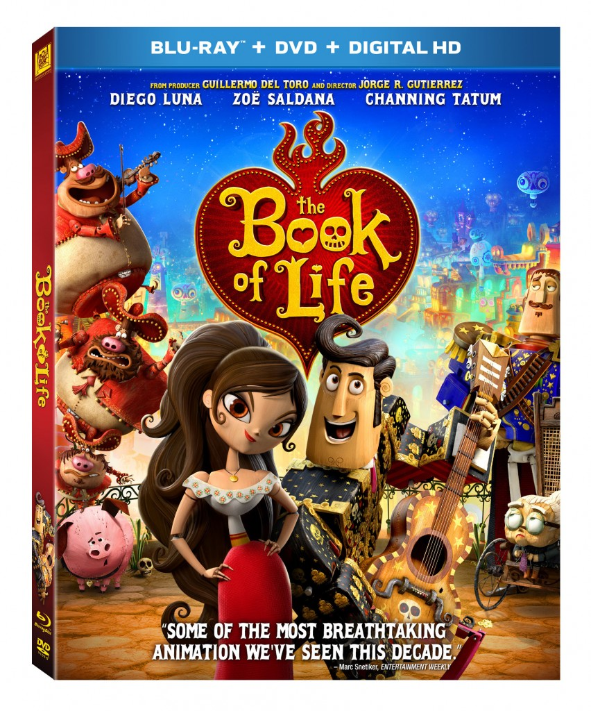 The Book of Life on Blu-ray/Dvd
