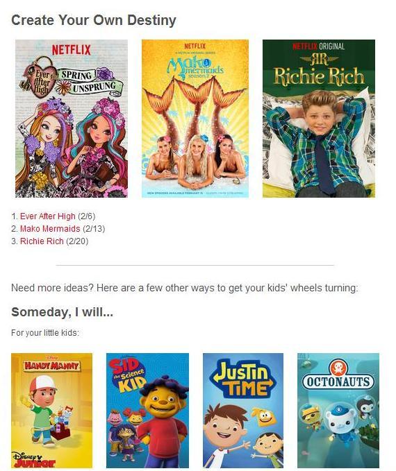 Netflix ideas