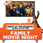 {Giveaway} Pizza Movie Night w/ Night at the Museum: Secret of the Tomb & Pizza Hut! #NATM3Insiders #Night3MovieNight