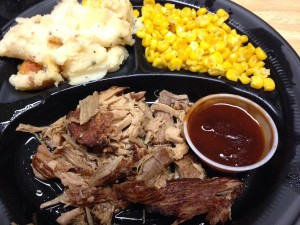 Pulled Pork w/ Zesty BBQ sauce