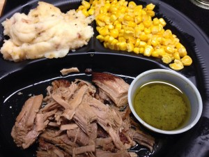 Pulled Pork w Garlic Citrus Sauce