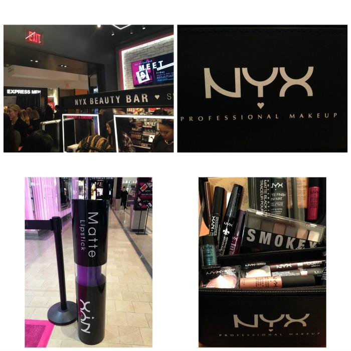 NYX collage