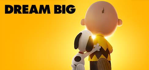 The peanuts Dream big
