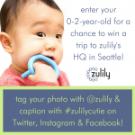 Enter Your Cutie into #Zulilycutie's Contest!