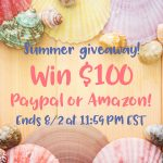 {Giveaway} $100 Online Gift Card to Amazon or Paypal
