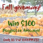 Welcome Fall with Open Arms & a $100 Giveaway!